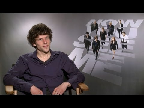 Jesse Eisenberg - Now You See Me Interview HD