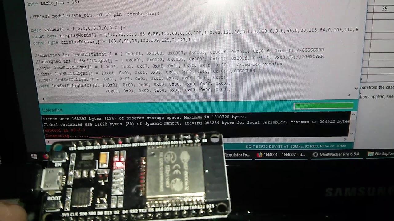 ESP32: Failed upload from Arduino IDE