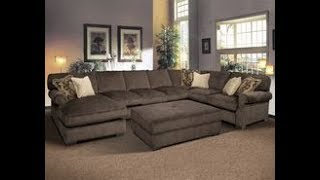 Oversized Sectional Sofa with Chaise