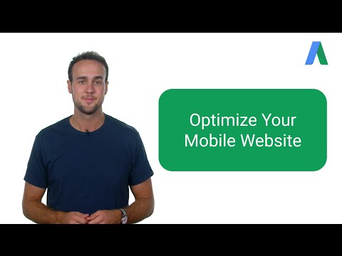 Optimize Your Mobile Website - AdWords In Under Five Minutes - 동영상