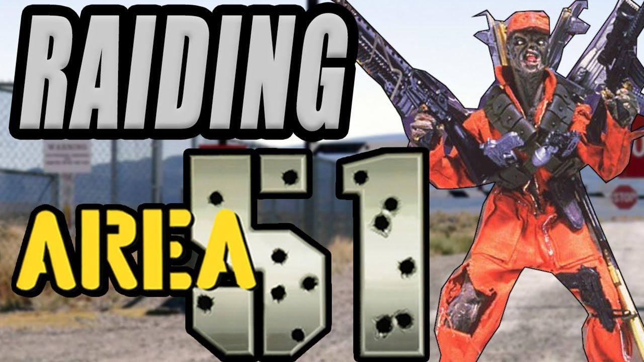 Raiding Area 51