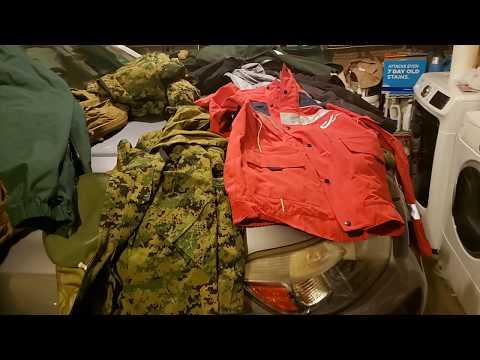 Gore-tex, Military, Surplus And Civilian.  A Comparison.  Get Rain Jackets Cheaper!  Usmc Goretex.