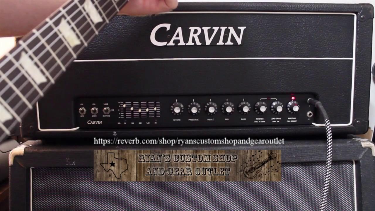 Carvin X100b Hot Rod Modification 1b 100w50w25w All Tube Youtube