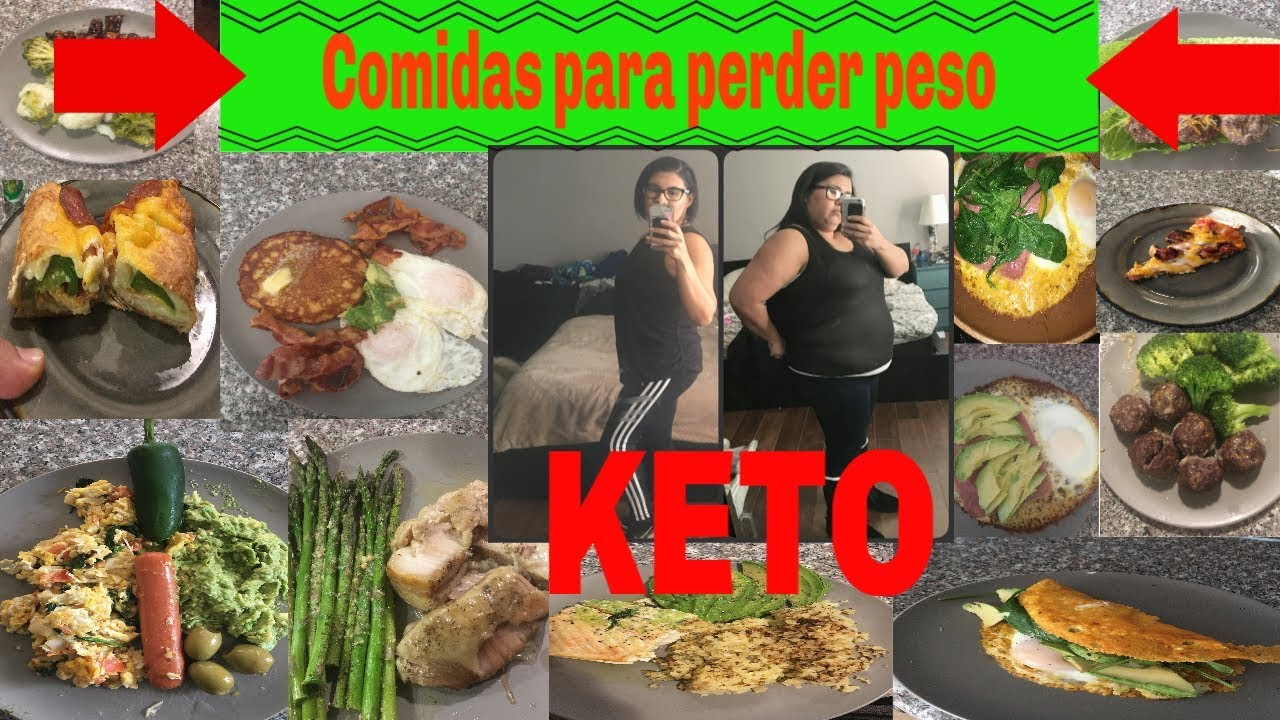 IDEAS DE COMIDAS PARA PERDER PESO   DIETA KETO  DIETA ...