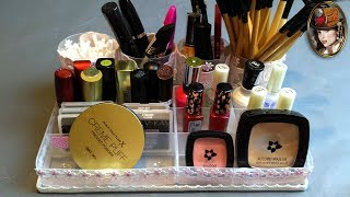 Organizer With Your Own Hands. Organizer for Cosmetics. DIY | lylondra