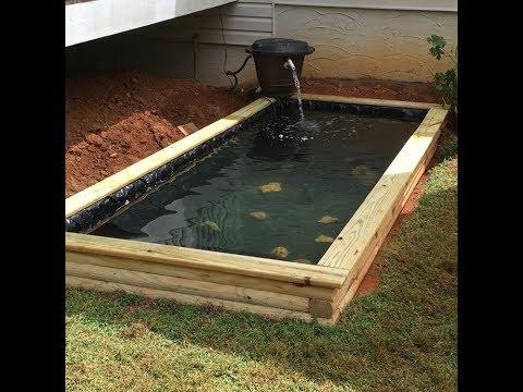 DIY Raised pond