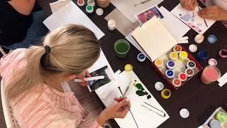 Уроки рисования, учимся рисовать, акварелью, маслом и маркерами, видео уроки скетчинга