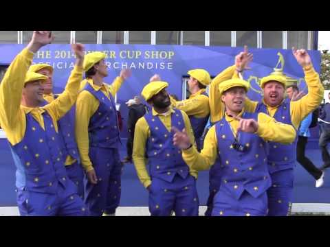Guardians Of The Cup Serenade Ryder Cup Fans At Gleneagles