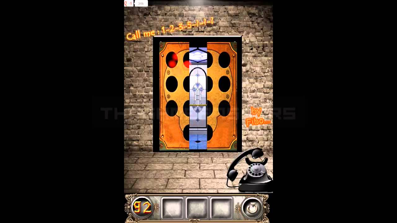 100 Doors Floors Escape Level 92 Walkthrough Guide Youtube