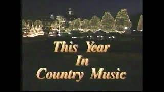 Sylvia Hutton Co-hosts - This Year In Country Music 1988