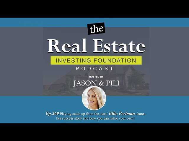 Ep.269 Playing catch up from the start! - Ellie Perlman