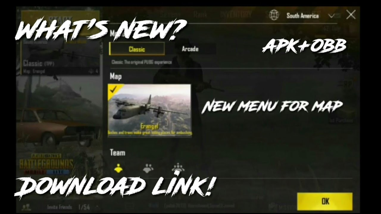 Pubg Mobile Lite 0.10.0(Download link)-(What's new)