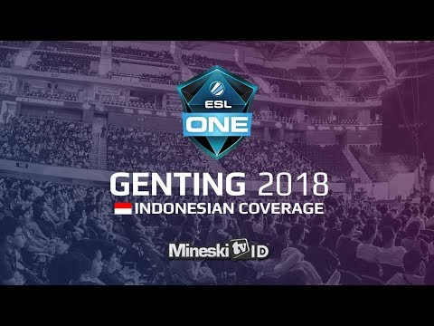 ESL ONE GENTING 2018 Group Stage Day 2 Official Indonesian Coverage