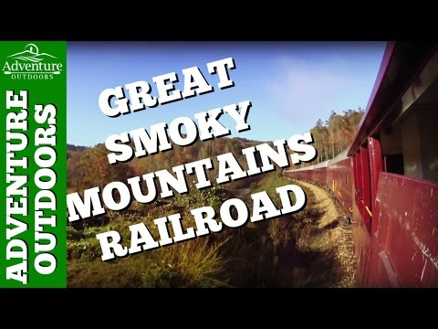 Great Smoky Mountains Railroad ~ Bryson City, NC Train Ride