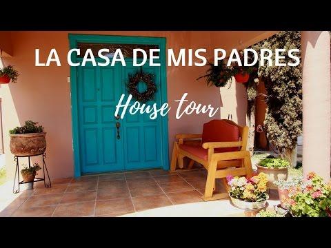 'HOUSE TOUR' DE LA CASA DE MIS PADRES Y VLOG FAMILIAR | Pabla en casa