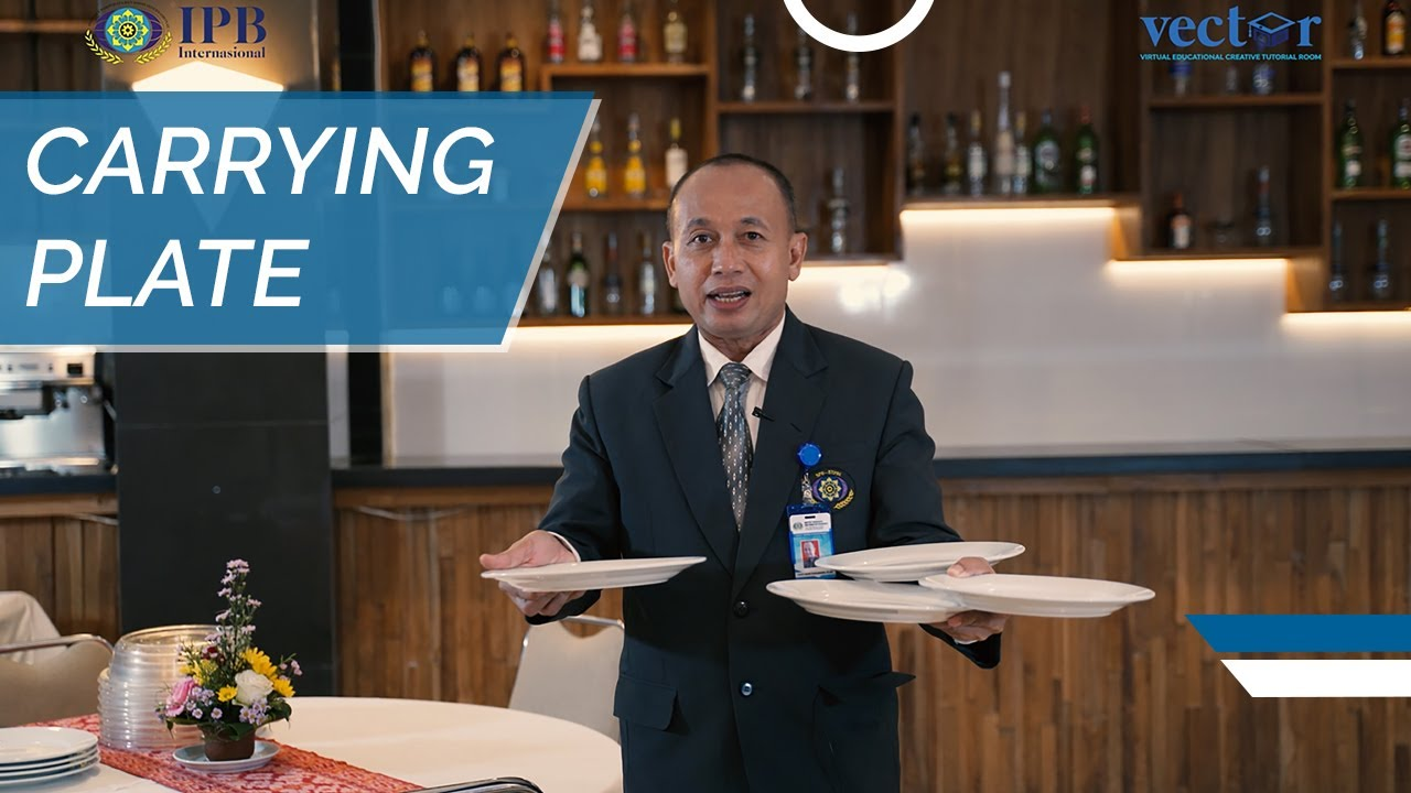 Download F&B Service Knowledge - How to Carry Plate (Restaurant Waiter)