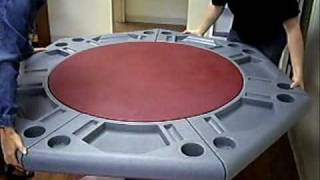 Seven Sided Poker Table The Lucky Seven By Granger Plastics