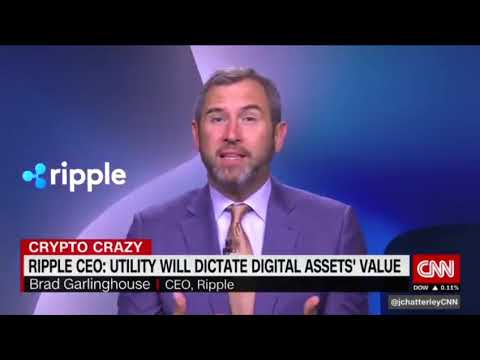 Julia Chatterley #CryptoCrazy with @Ripple CEO Brad Garlinghouse  CNN Interview