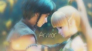 { i lay down this armor } ♡ lambert & liya