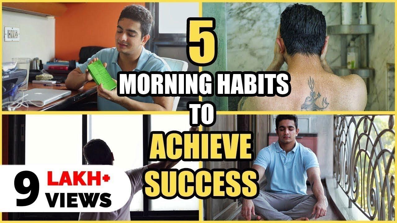 SECRETS BEHIND SUCCESS - Entrepreneur's Morning Routine for MAXIMUM WORK EFFICIENCY   BeerBicep