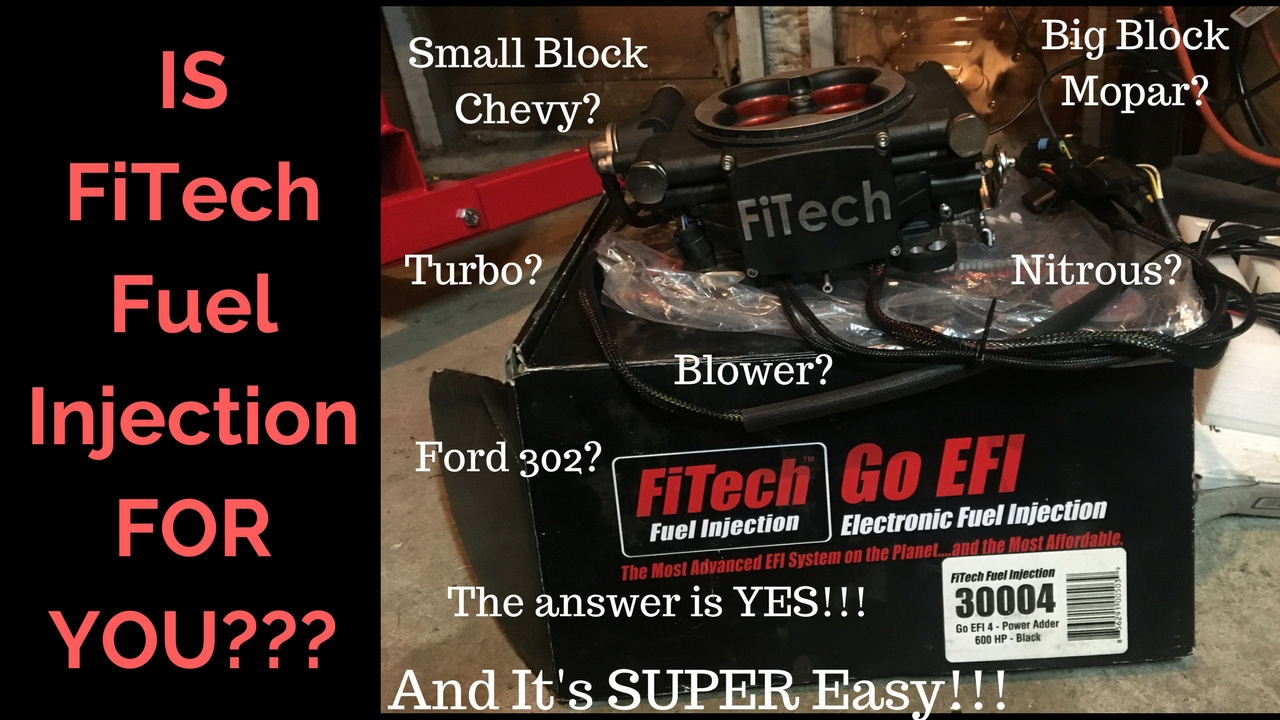 FiTech Fuel Injection System Impressions and Review   As Simple As It Gets!