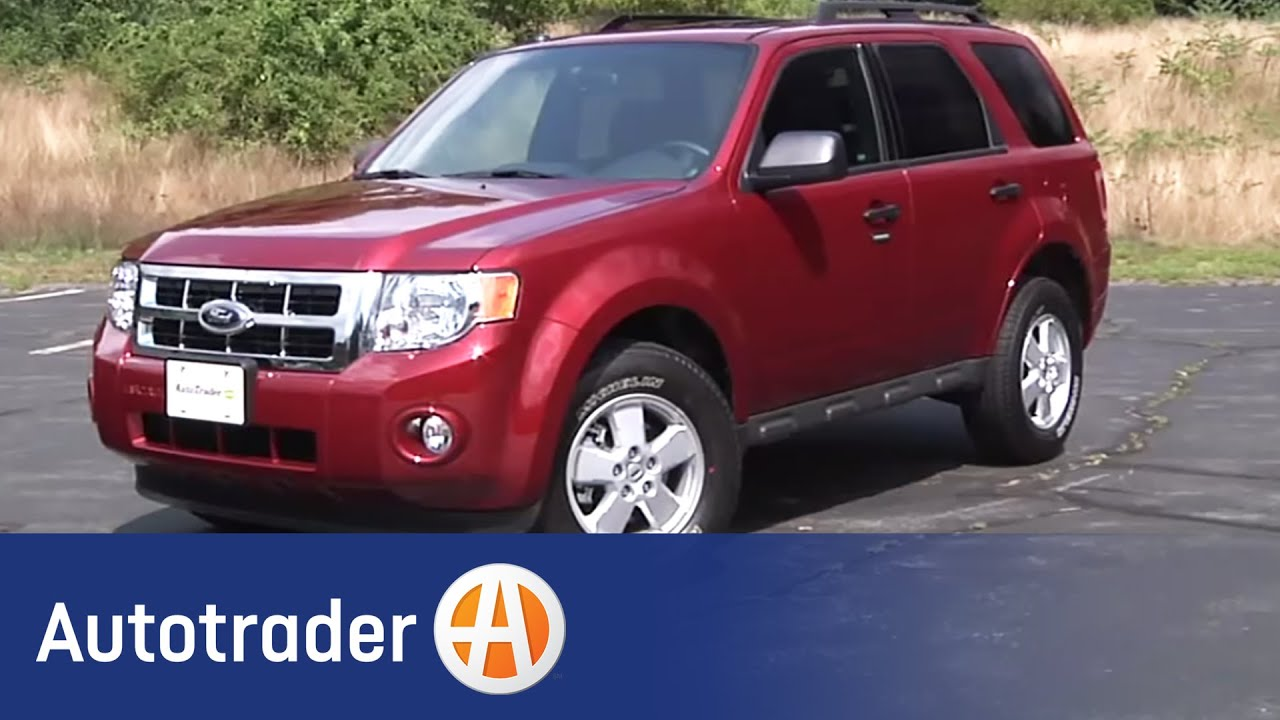 2012 ford escape suv new car review autotrader youtube. Black Bedroom Furniture Sets. Home Design Ideas