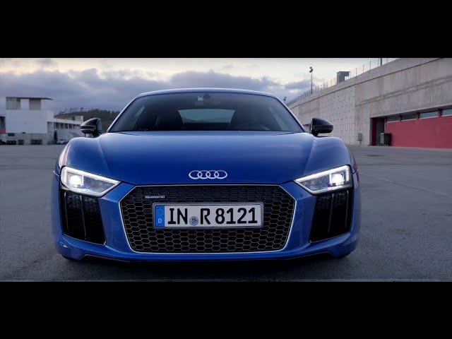 Тест-драйв Audi R8 V10 Plus 2016 (4K Ultra HD) // АвтоВести 236