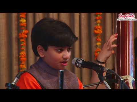 Master Shadaj Iyer - Vocal (Saptak Annual Festival 2018)