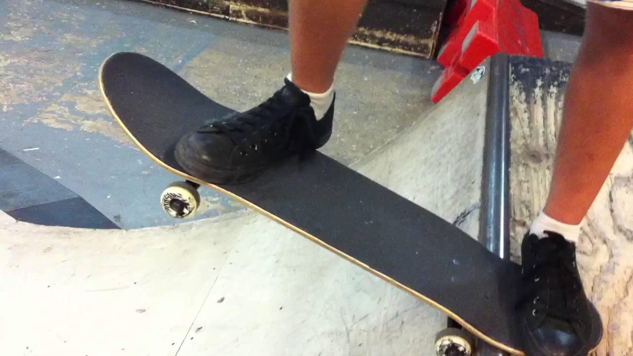 drop in skateboard trick
