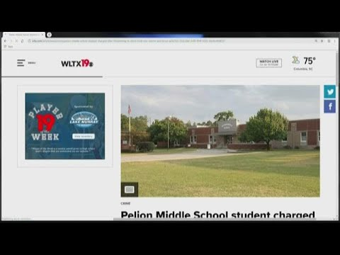 Pelion Middle School student charged after threatening to drive truck into school and shoot girls