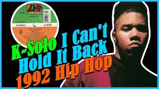 Teledysk: K-Solo I Cant Hold It Back 1992 Hip Hop