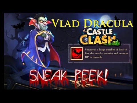 Castle Clash - New Hero - Vlad Dracula Pt1
