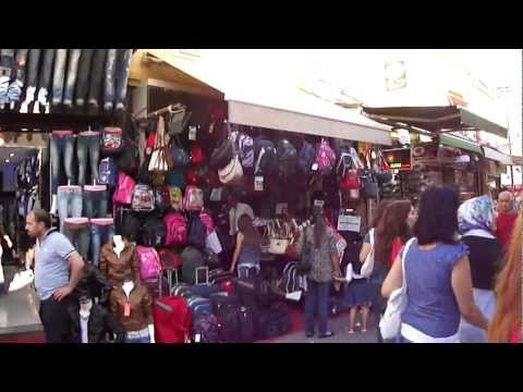 Shopping in Izmir, Turkey