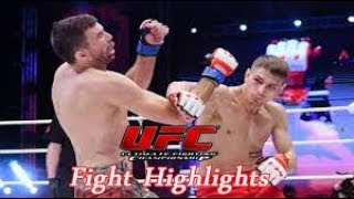 Damir Ismagulov x Joel Alvarez - UFC Praga Highlights 2019