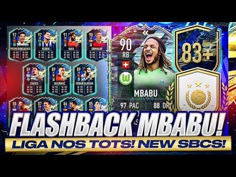 Download FLASHBACK 90 MBABU IS HERE FFS EA! LIGA NOS TOTS & 91+ PRIME ICON UPGRADE! FIFA 21 Ultimate Team