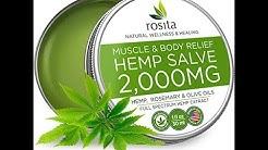 (EPISODE 2506) AMAZON PRIME UNBOXING: ROSITA Pain Relief Hemp Oil Salve - 2000 MG  @amazon