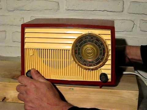 Radio antigua general electric modelo 640 youtube - Fotos radios antiguas ...