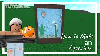 || How To Make an Aquarium In Bloxburg|| Roblox