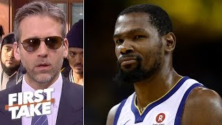 Download Kevin Durant would leave the Warriors to shut people like me up – Max Kellerman | First Take Mp3 and Videos