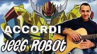 Jeeg Robot - 鋼鉄ジーグ - Chitarra - Facile - Accordi e Ritmo