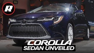 2020 Toyota Corolla sedan first look | Bolder styling, more features, two engine options