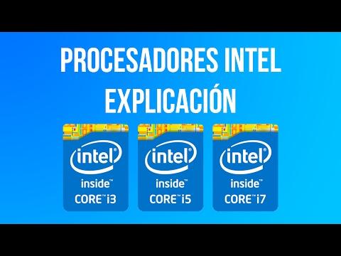 Смотреть Explicación de procesadores Intel Core i3 - i5 - i7 - Deak Mobo онлайн