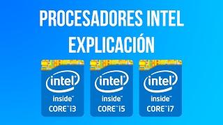 Explicación De Procesadores  Ntel Core I3   I5   I7   Deak Mobo