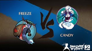 Thirst For Power Freeze Vs Candy Shadow Fight 2