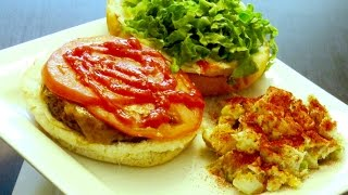 How To Make Delicious Beef Burgers & Potato Salad Recipe  2015