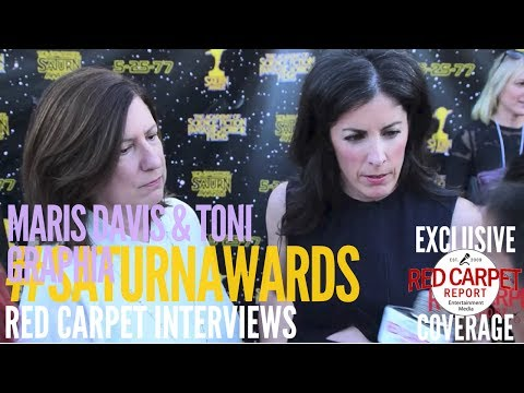 Maris Davis & Toni Graphia #Outlander interviewed at the 43rd Annual Saturn Awards #SaturnAwards