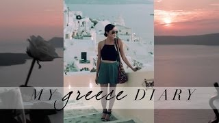 My Greece Diary Thumbnail