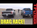 Old vs New - 2014 vs 2017 Ford Raptor Drag Race: And the Fastest Raptor is...