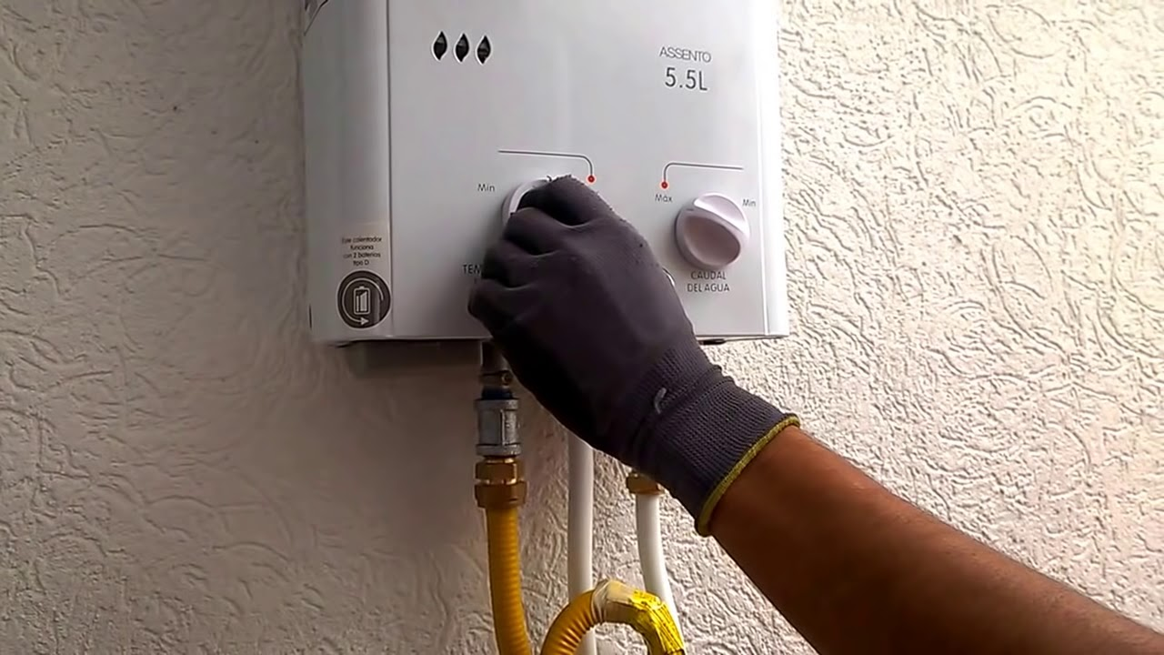 Fallas b sicas en un calentador de agua a gas - Calentador de agua de gas ...