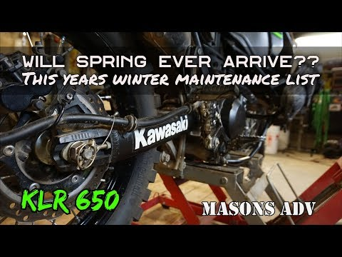Will spring ever arrive?? This years winter maintenance list